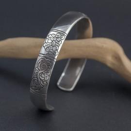 Srebrna bransoletka bangla