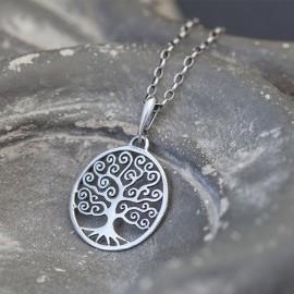 """Srebrny wisiorek """"drzewo życia"""""""
