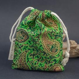 Duży woreczek na biżuterię - zieleń